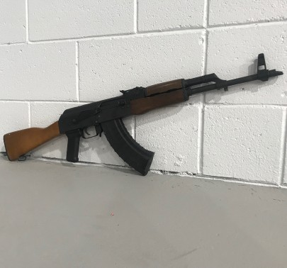 AK47 Available to Shoot at Indoor Shooting Range in Las Vegas