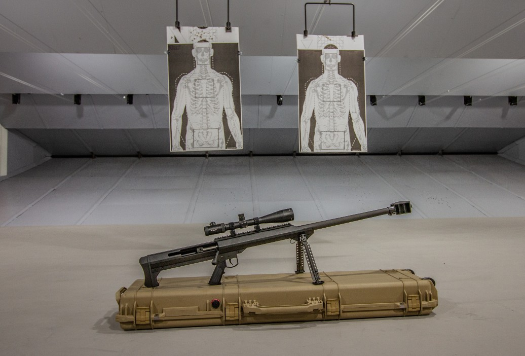 Shoot a Barret 50 Cal at Las Vegas Shooting Center
