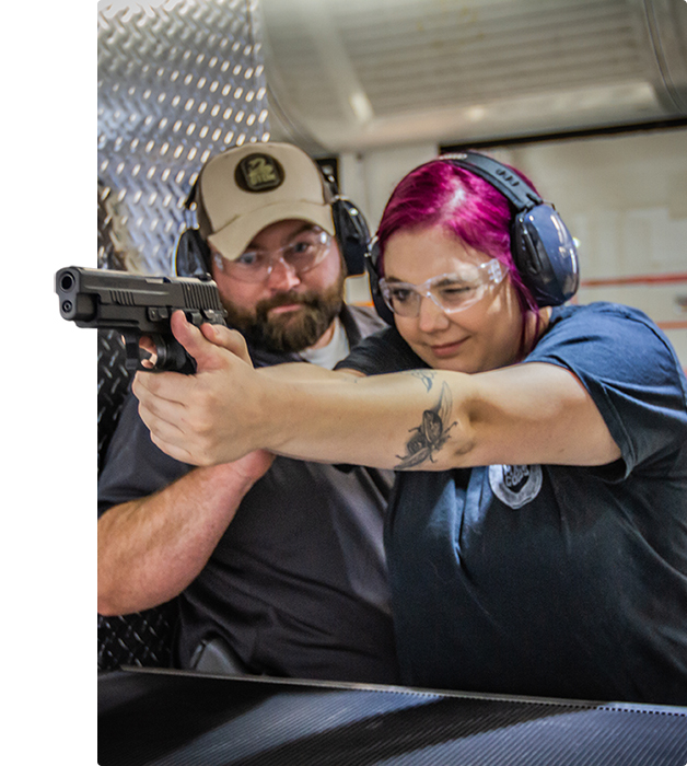 Hone Your Skills at Our Indoor Shooting Range