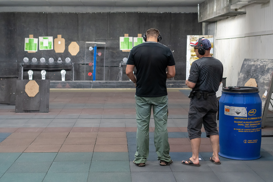 Book Your Time at Our Indoor Shooting Range Today