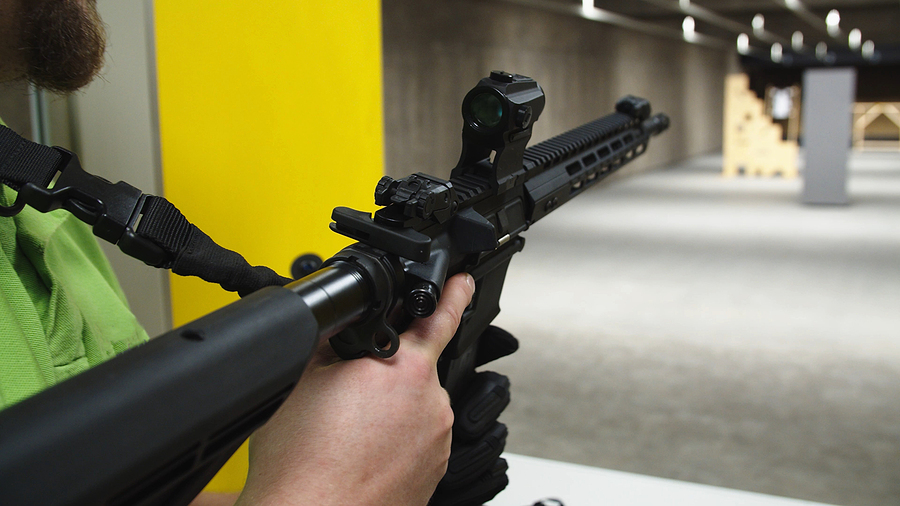 Shoot a Variety of Handguns at the Premier Las Vegas Gun Range