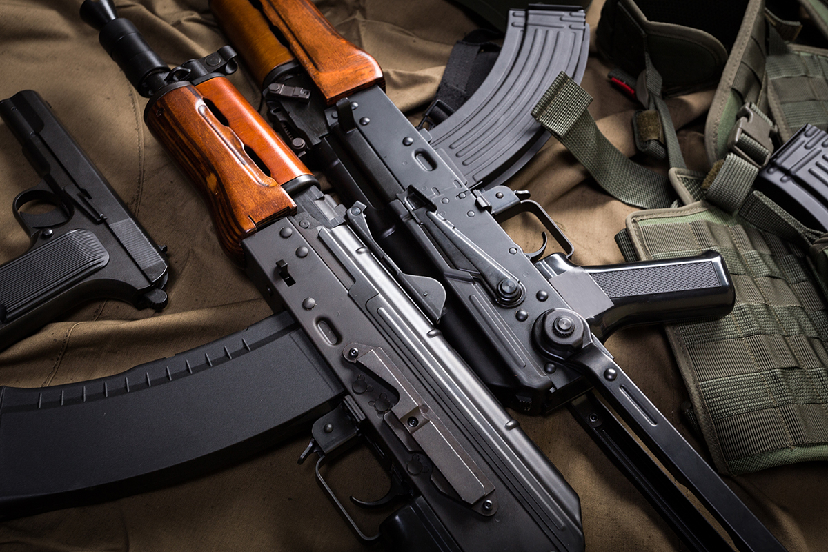 Shoot Famous Firearms at LVSC's Indoor Shooting Range
